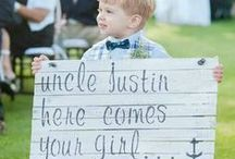Happily ever after starts here / Happily ever after starts here, here comes the bride signs inspiration