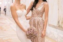 Bronze Wedding Inspiration / Copper Bronze Wedding Inspiration