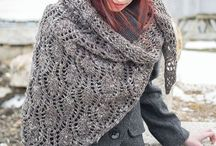 Knitting ❥Shawl&Scarf / Knitting  / by Marta Spring