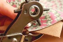 Fashionable Leather Accessories / This is a springboard for ideas on making your own DIY Leather Fashion accessories!