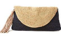 Crochet-Knit ☆BAGS & PURSES / crochet-KNIT / by Marta Spring