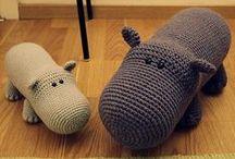 Knit-Crochet Toys,Puppets&Dolls / diy toys / by Marta Spring