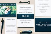 Wedding Invitation Sets / Find the perfect matching wedding invitations sets.  See everything from the save the dates and wedding invitations before the wedding all the way down to the wedding programs and menus for the wedding day and thank yous for after. / by Basic Invite