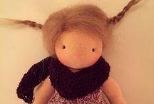 Waldorf dolls / Waldorf dolls and dolls clothes / by Marta Spring