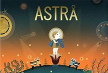 ASTRÅ / Art direction for Astrå, a  IOS game by fabulosogames.  http://www.fabulosogames.com/  Astrå is the adventure of Hemera, a primordial greek goddess of daylight. Help her in her battle against darkness, while discovering the wonders and secrets of this unique universe. Astrå is a space physics auto-runner game. It brings some fresh air, and new mechanics, to the genre.