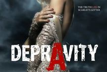Depravity / The truth LIES in Scarlet's letter.  Goodreads:http://bit.ly/1LTeXx3