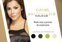 Aniversario Carmel: 19 años de moda / Moda sexy a precios de aniversario  Detalles en prendas y combinaciones con texturas como chifón y chalís son la tendencia de la temporada.