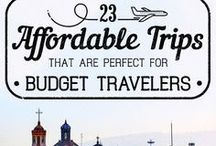 Budget Travel Tips / Need to save money? Here's a few tips and tricks on how to travel the world while on a budget.
