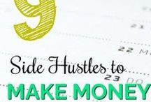 Money Making Tips / Need a side hustle idea? Everything you need to know to make extra cash while working full time such as weekend side hustle ideas, hustle ideas, make extra cash, build more income, how to make extra money, how to start a business, money tips, and more!