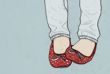 Shoes ~ Ruby Red Slippers