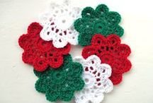 Crochet coasters / by Alida R