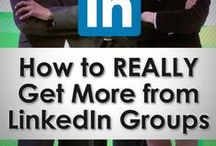 LinkedIn Tips / Using LinkedIn Can be a challenge for beginners. Here I share tips to help you be more effective