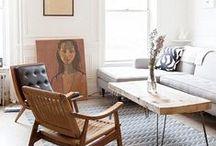 Design for Living / Interior design inspiration for living spaces