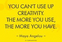 Maya Angelous quotes / The genius of the late, great Maya Angelou - images with some of her most powerful words.