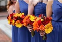 Wedding Themes - Blue / Orange