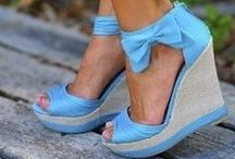 Shoes / Wedge shoes / by Fashion Sewing Blog - Colleen G Lea