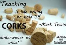 Inspiring Quotes / Inspiring quotes for teachers.