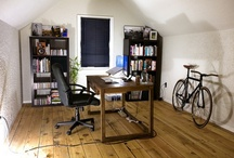 Mancave Planning / Inspiration for a future home office / refuge. / by Nat Tarbox