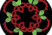 Tatting Patterns, tips and ideas / Tatting lace is a fun hobby and I'm always looking for new ideas and patterns.