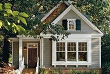 House: Exterior Inspiration / Inspiration to reduce our house footprint and live closer to nature.