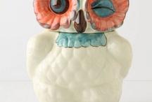 Owls - whoooo whoooo! / by TurquoiseDreaming@Etsy.com Sheree Brown