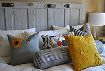 Headboards / by TurquoiseDreaming@Etsy.com Sheree Brown