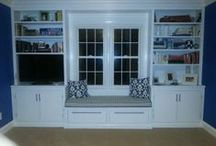 Built-Ins & Mouldings / Architectural Details for every room in the house. / by Julie Caulfield