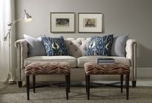 Have a seat / Functional and Fabulous Upholstery Pieces / by Julie Caulfield
