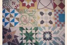 floor / soil, hydraulic tile, floor. Suelos, baldosas hidráulicas.