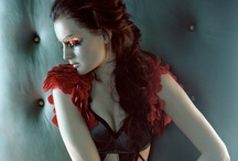 Dark mysterious looks / Every look has an underlying story.