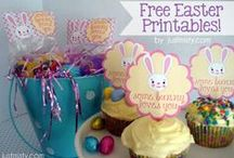 Easter & Spring Ideas - Crafts, Recipes, Decor, Party Ideas / Easter & Spring Ideas - Crafts, Recipes, Decor, Party Ideas