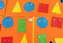 Recognizing Shapes  / Ideas for teaching shapes in your early childhood education programs.