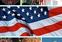 Hooray for the Red, White, and Blue / by Martha Coye