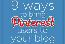 Pinterest: Social Media Tips / Tips and Ideas to get the MOST out of Pinterest