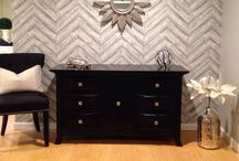 Basement Remodel / Pieces of inspiration for our basement remodel (aka The Family Cave!)