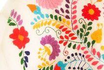 Surface textiles / Surface textiles - print-pattern-embroidery-applique