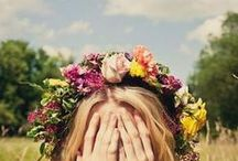 Flower Crowns / DIY Flower Crown Ideas