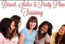 Direct Sales and Party Plan Training, Tips and Resources / Direct Sales and Party Plan Training, Tips and Resources, Home Business, Online Business, Small Business, Social Media, Marketing / by Misty Kearns, CEO of Me®