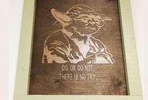 DIY Geek Crafts / DIY crafts for all things geek. star wars, doctor who, sci fi, star trek, 80s video games