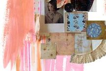 Mood boards / Mood borad and colour inspiration