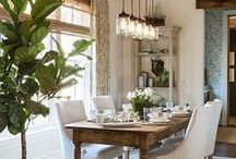 Dining Room Ideas / Ideas for Dining room decor, dining room updates, dining room renovations, dining room DIY, tablescapes, dining furniture, table and chairs, dining room decorations, dining room projects