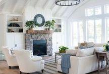 Living Room Ideas / Ideas for living room decor, living room renovations, living room updates, wall decor, living room furniture, rugs, DIY decor, etc.