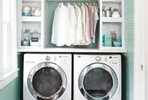 Laundry Room Ideas / Laundry room design and decor. Laundry room renovation ideas. All things Laundry room decorating!