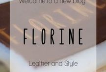 Florine Leather and Style - Blog / Follow my latest post on Florine leather and style and stay tuned for the latest leather trends and styles and lots of leather DIY's. See you soon!