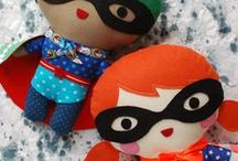 Free stuffed toys patterns and templates / Peluches patrones gratis