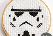 Pixel patterns / Patrones en cuadrícula / For tapestry, knitting, cross stitching... / Para tapestry, punto, punto de cruz...