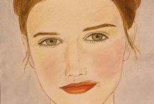My Portraits / Rysunek & Malarstwo