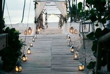 Destination Weddings / Get ready to get inspired for your destination wedding! Whether you're having a casual weekend getaway a couple hours from home, or whisking your guests off to a tropical beach, check out my ideas and advice here!
