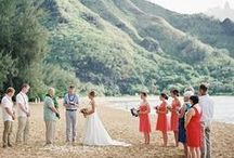 Beach Weddings / Whether you're planning a beach wedding in a quaint New England beach town, or a tropical far-off destination, get ideas and inspiration from this board!