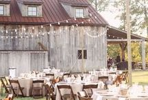 Farm/Barn Weddings / Get ideas for your farm or barn wedding with this board! Inspiration for lawn games, activities, decor, and more.